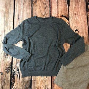 Topshop grey crewneck sweater